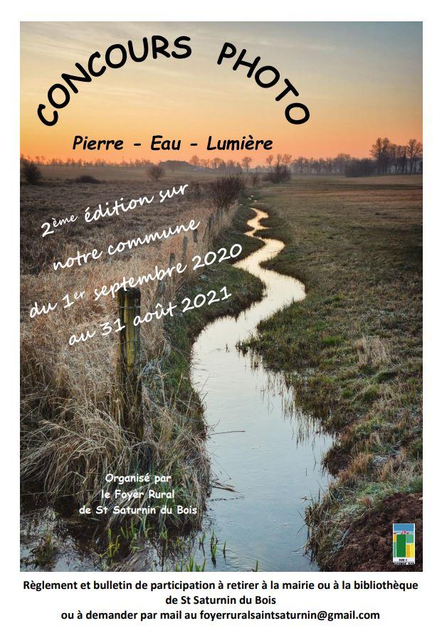 Concours photo Pierre – Eau – Lumière