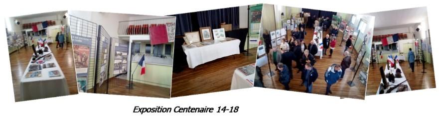 Photos exposition Centenaire 14-18