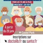 Ouverture centre de vaccination à Surgères