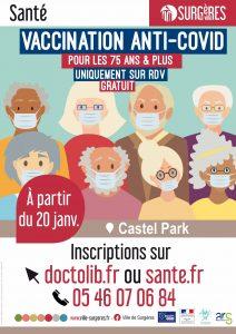 Read more about the article Ouverture centre de vaccination à Surgères