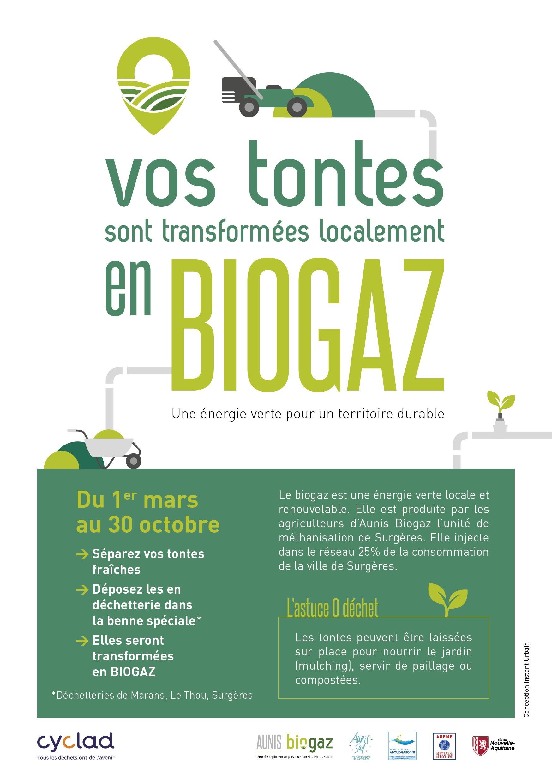 Read more about the article Vos tontes transformées en BIOGAZ