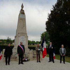 Read more about the article Cérémonie du 8 mai 2021